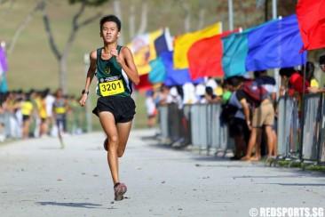 B Div Cross Country: Tan Chong Qi of RI and Natalie Soh of Paya Lebar MGS win gold