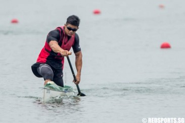 Tertiary Canoeing: Tan Chun Leng of SIM claims double gold in Men's C1
