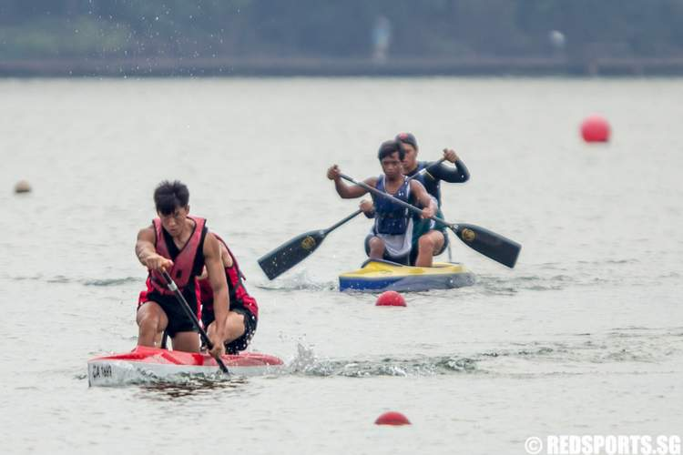 Inter-Tertiary Canoeing Competition 2014 Men's C2 200m