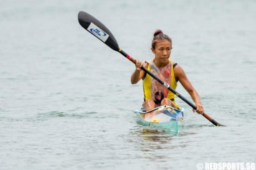 Tertiary Canoeing: Suzanne Seah of NTU wins both K1 200m and 1000m