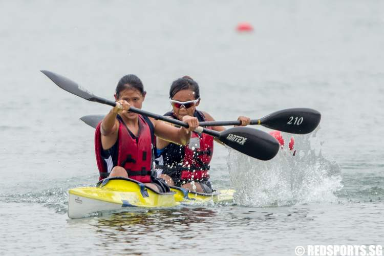 Inter-Tertiary Canoeing Competition 2014 Women's K2 1000m