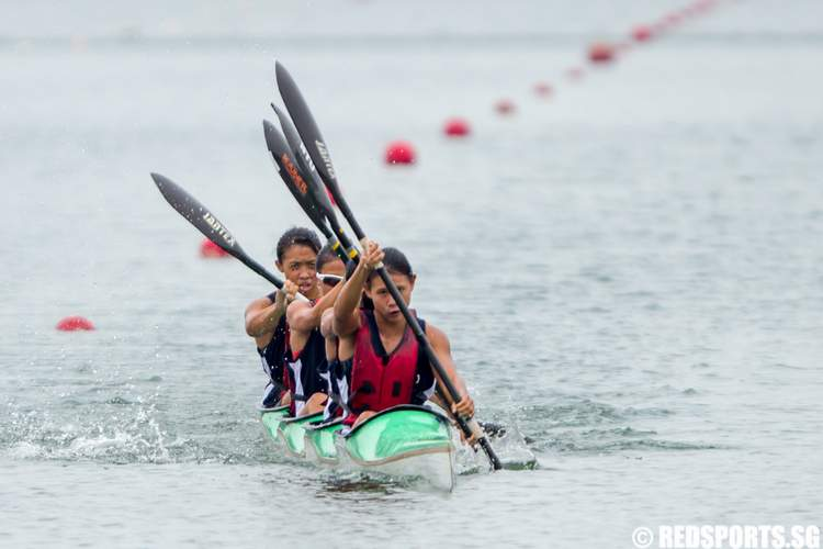 Inter Tertiary Canoeing Competition 2014 Womens K4 1000m
