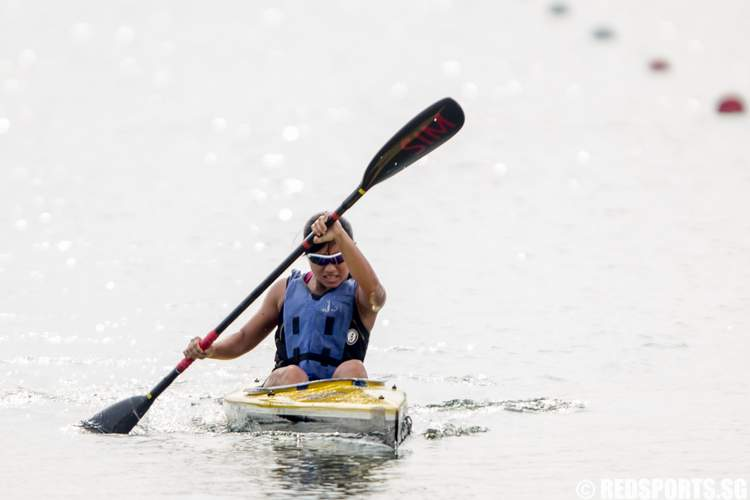 Inter-Tertiary Canoeing Competition 2014 Women's T1 200m