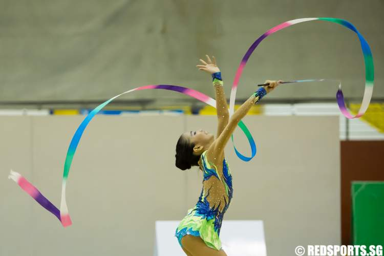 6th Singapore Gymnastics National Championships (Rhythmic Gymnastics) International Junior