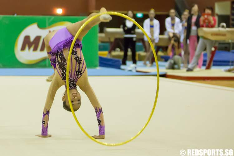 6th Singapore Gymnastics National Championships (Rhythmic Gymnastics)