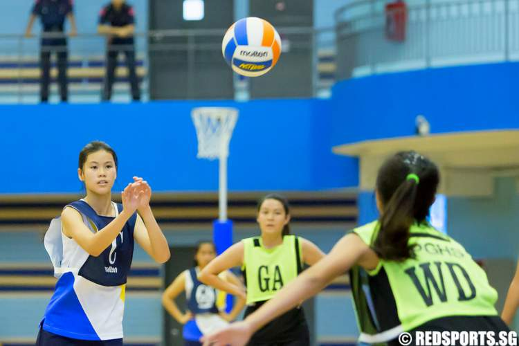 west zone b div netball nanyang girls' high bukit panjang government high