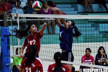 National B Div Volleyball (Girls): Ngee Ann fend off St. Hilda's 3–1 to emerge champions