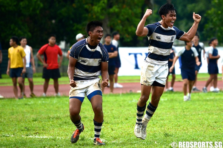 B Division Rugby Final St. Andrew's vs Anglo-Chinese School (Independent)