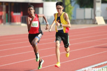 C Div 1500m: Philip Wong of ACS(I) takes gold in 4:35.67