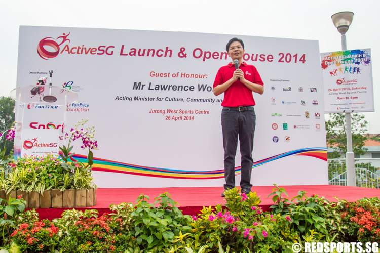 ActiveSG Launch