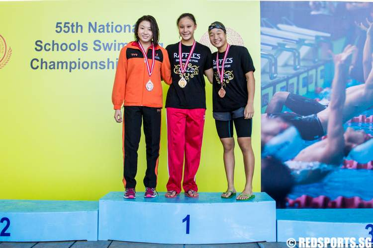 55th National Schools Swimming Championships A Division 200m Breaststroke