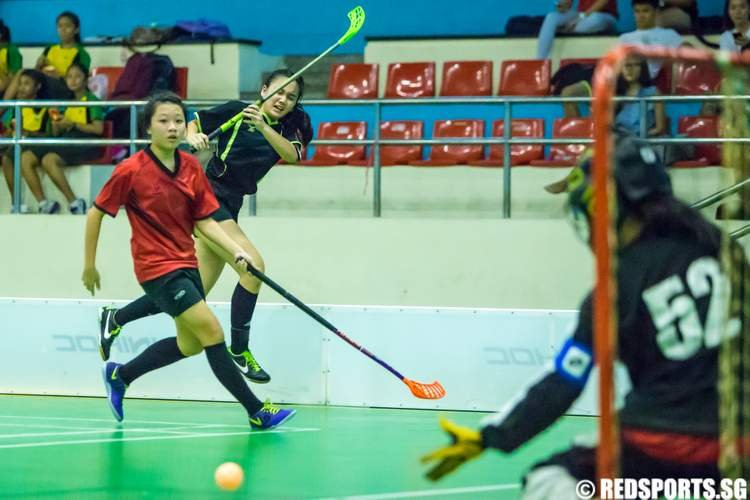National B Div Floorball Bukit Merah Secondary St. Margaret's Secondary
