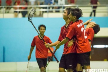 National B Div Floorball (Boys): Bukit Merah defeat Victoria School 7–5 to advance to final