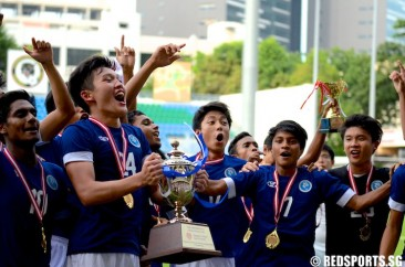 National A Div Football: 10-man MJC reclaim title with 1–0 win over SAJC