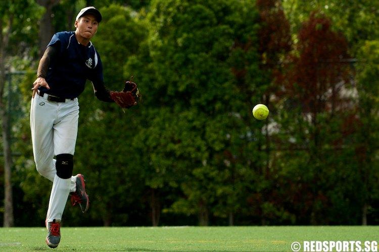 National A division softball final ri vs acsi