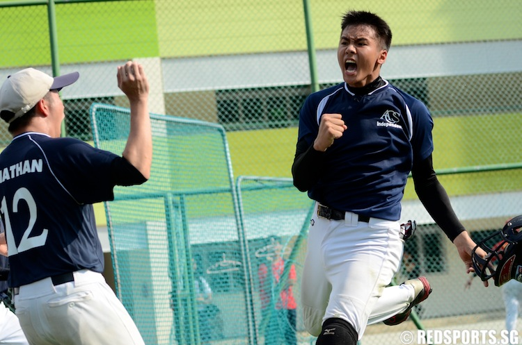 Jerel (ACSI #17) celebrates the win. (Photo 14 © Matthew Lau/Red Sports)