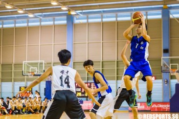 National A Div Bball: HCI defeat AJC 47–37 to finish top of group