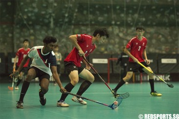 A Div Floorball (Boys): PJC beat NJC 4–0 for first win