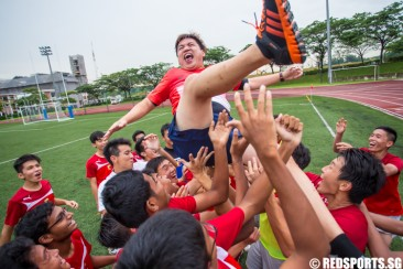 National A Div Football: ACJC overcome VJC 2–1 in extra time to finish third