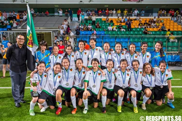 National A Division Football Girls Victoria Junior College Raffles Institution