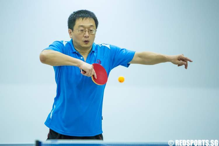 2014 Community Games Table Tennis Nanyang CSC