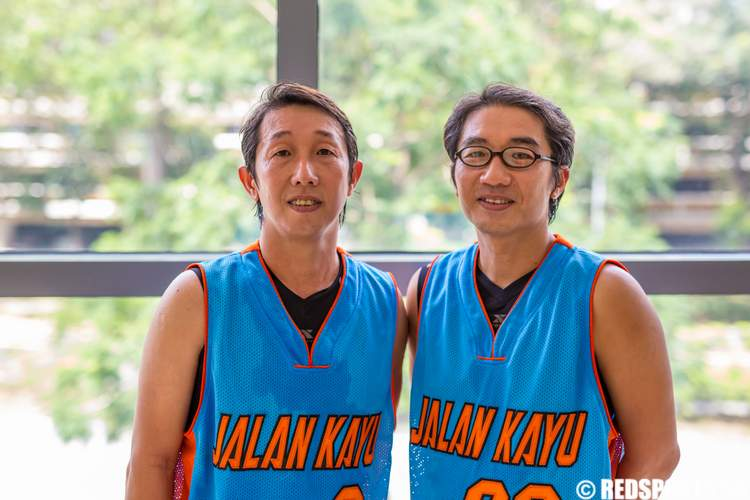 2014 Community Games 3-on-3 Men's Masters Basketball Jalan Kayu CSC