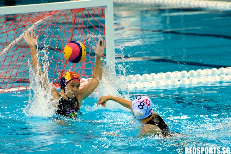 SEA Swimming Championship Water Polo WMNS Singapore vs Malaysia