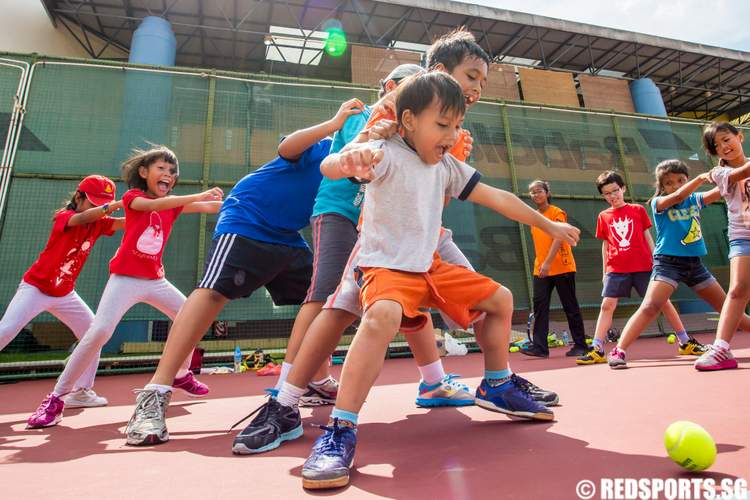 ActiveSG June Holiday Programme Tennis