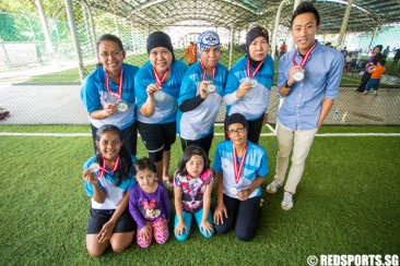 Mothers take break from parenting duties to play football in Community Games