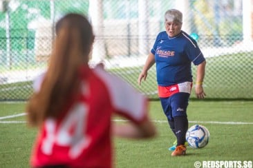 Community Games: Age not a boundary for 58-year-old Siti Rosnani and her passion for football