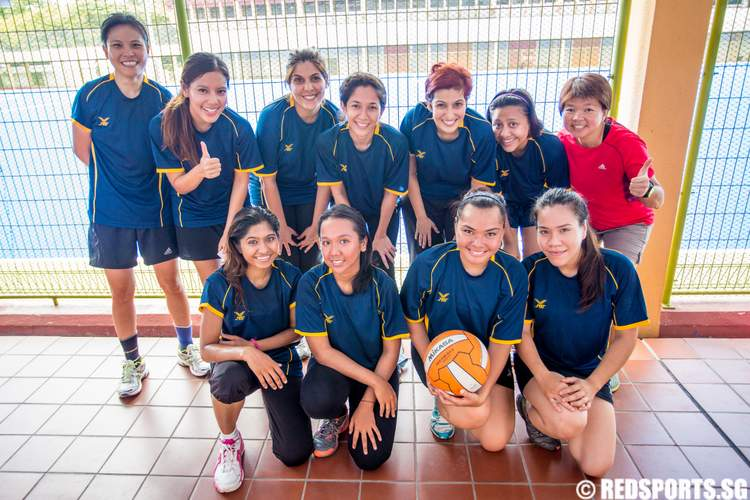 2014 Community Games Netball Changi-Simei CSC