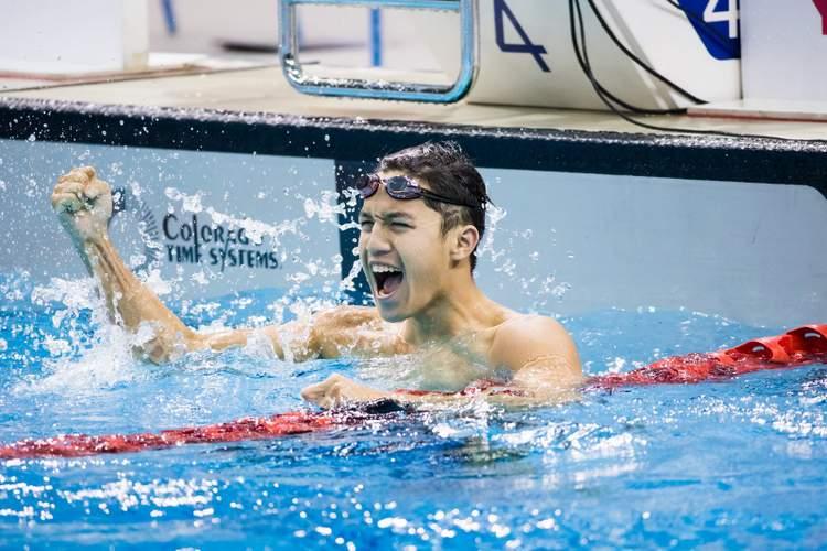 SEA Swimming Championships Danny Yeo