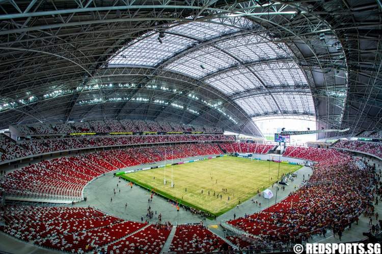 New National Stadium Hosts First Major Sporting Event