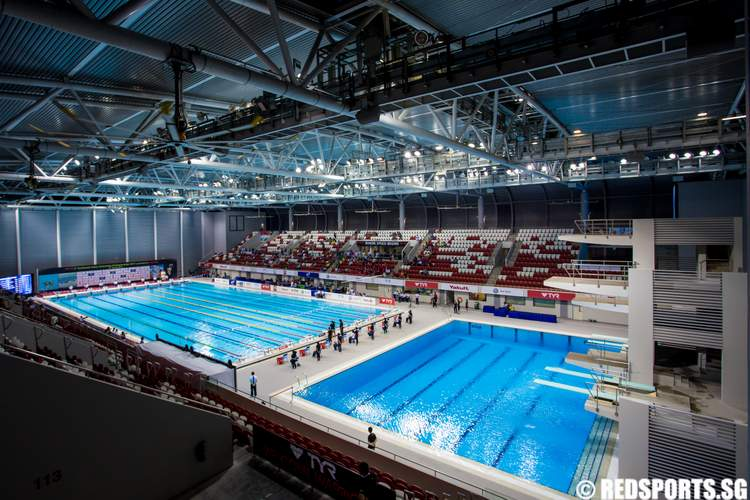 New Ocbc Aquatic Centre Opens Hosts First Major Event Page 3 Red Sports