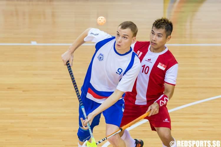 World University Floorball Championship (Men) Singapore Russia
