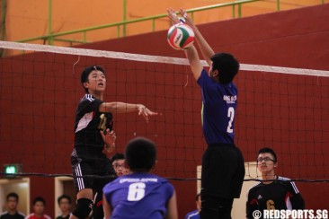 South Zone C Div Vball: Catholic High qualify for semis with 2–0 win over Chong Boon