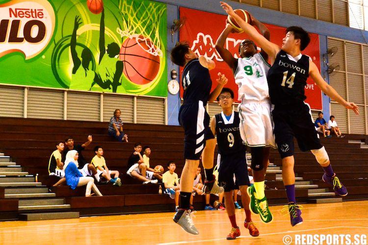 NZ C DIV BBALL Seng Kang vs Bowen