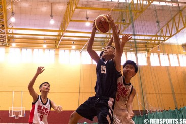South Zone C Div Bball: Guangyang beat NJC 66–28 with uptempo offence