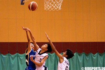 South Zone C Div Bball: Peirce survive late rally to beat Mayflower 39–33