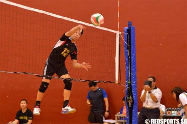 South Zone C Div Volleyball: Catholic High through to final after beating Zhonghua 2–0