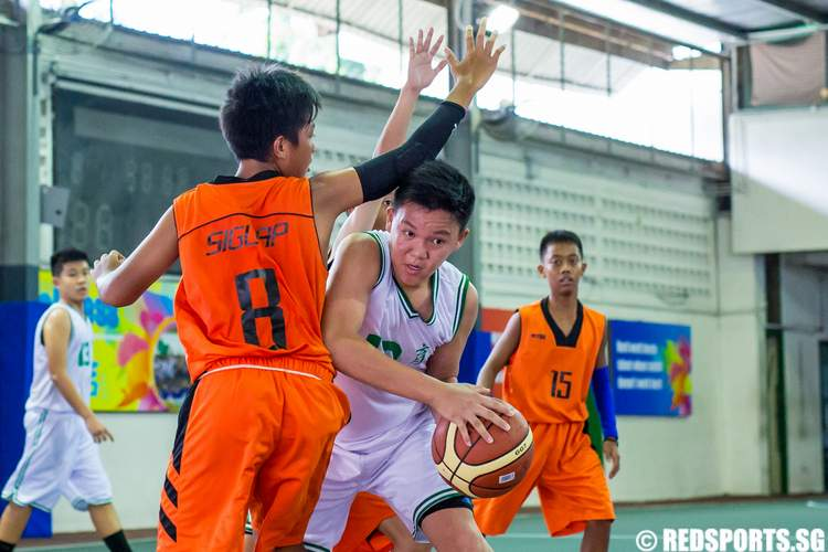 East Zone C Division Basketball Bedok Green Secondary Siglap Secondary