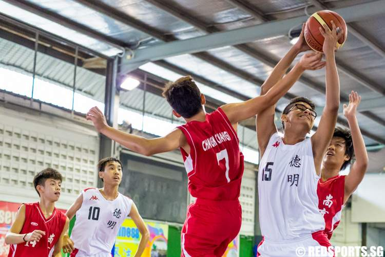 East Zone C Division Basketball Dunman Secondary Changkat Changi Secondary