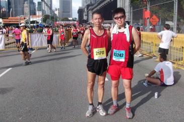 Army Half Marathon draws father and son closer
