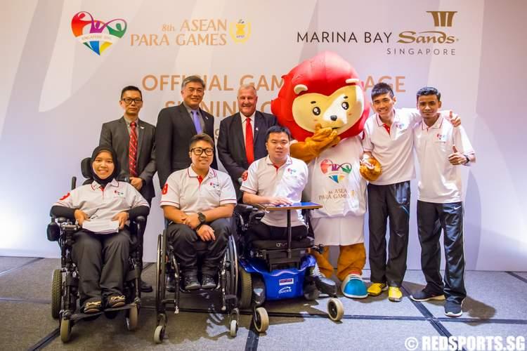 8th ASEAN Para Games Marina Bay Sands