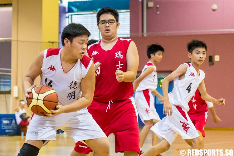 National C Division Basketball Dunman Secondary vs Swiss Cottage Secondary