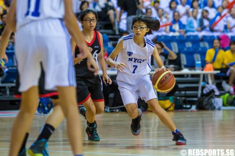 National C Division Basketball Final Nanyang Girls' High vs Anglican High