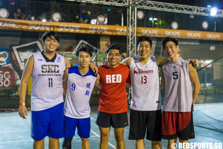 Red 3x3 Basketball Showdown