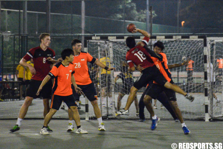 SUniG Handball Championships NTU vs NUS