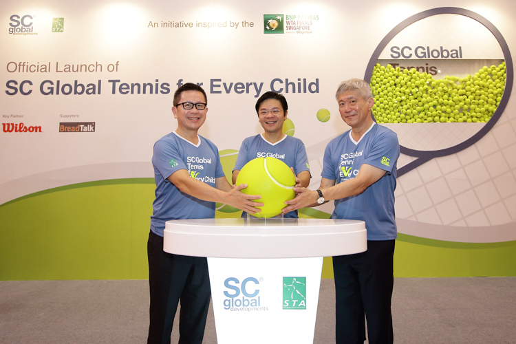 SC Global 'Tennis for Every Child'