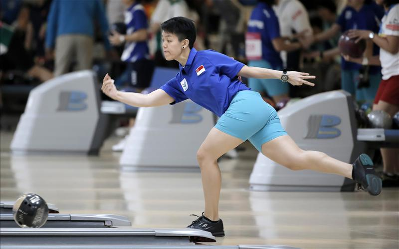 Asian Games Bowling: Singapore in action - RED SPORTS